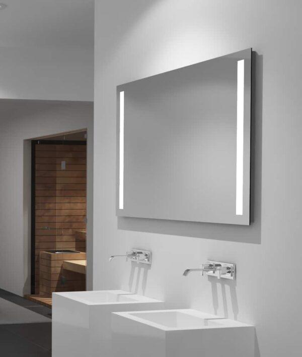 Badspiegel 100cm Breite links rechts beleuchtet TALOS LIGHT