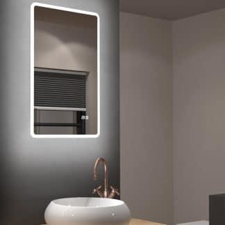 Badezimmerspiegel 45cm Breite - Talos Sun