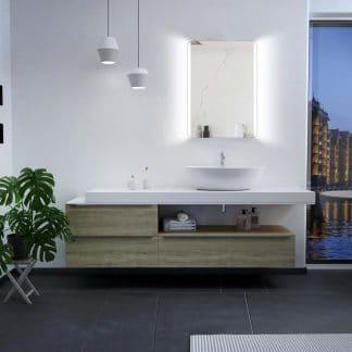 LED Badspiegel Talos Chic 50x70