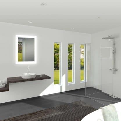 LED Badezimmerspiegel TALOS BRIGHT vertikal