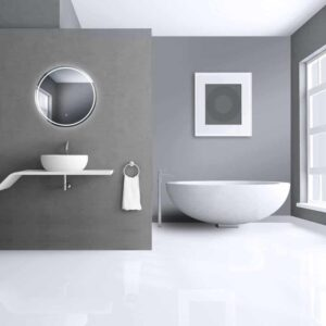 runder Badspiegel LED TALOS MOONSHINE