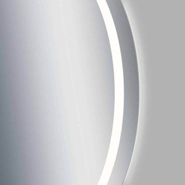 runder Badspiegel LED TALOS MOONSHINE Frontansicht