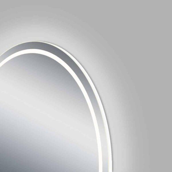runder Badspiegel LED TALOS MOONSHINE Seitenansicht