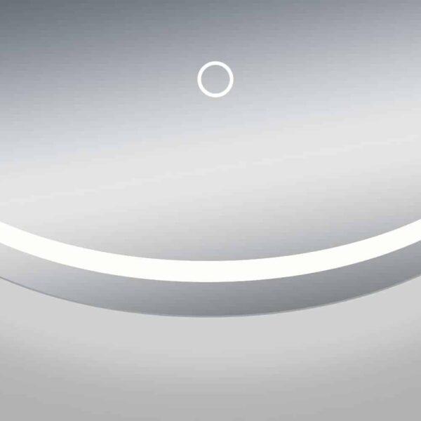 runder Badspiegel LED TALOS MOONSHINE Sensortaste