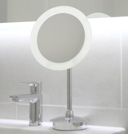 LED Schminkspiegel ausgeschaltet