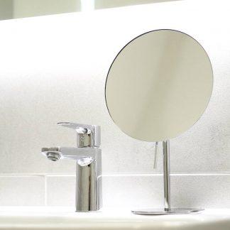 Schminkspiegel rund Badezimmer