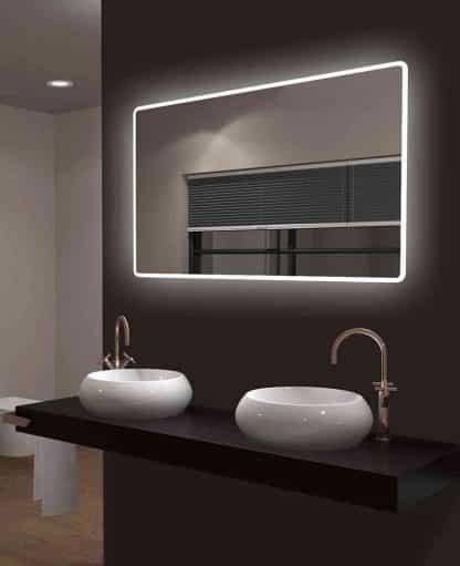 TALOS CASTLE LED Badspiegel mit Rundumbeleuchtung